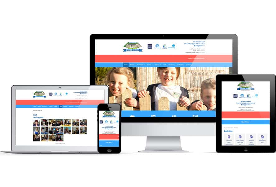 Diggle Primary School on devices