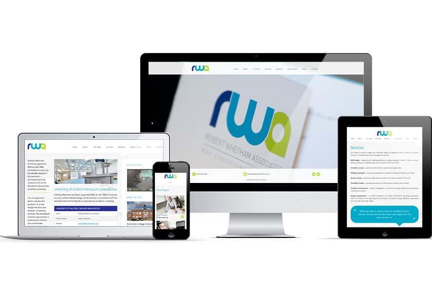 rob whetham associates - web design oldham