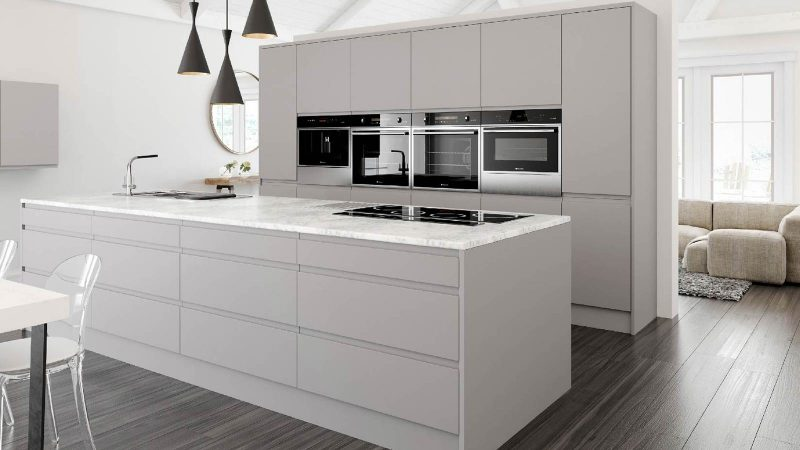 Hi-spec contemporary kitchen